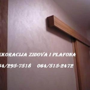 dekoracija zidova i plafona