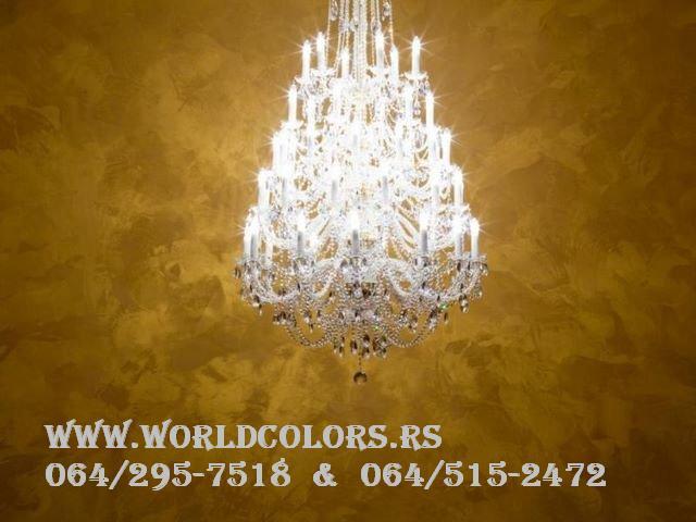 zlatni zidovi dekorativni zidovi