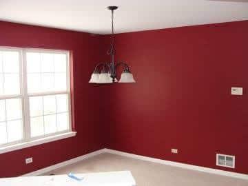 crvena boja zidova u vasem stanu