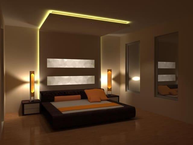 led svetlo u spavaćoj sobo